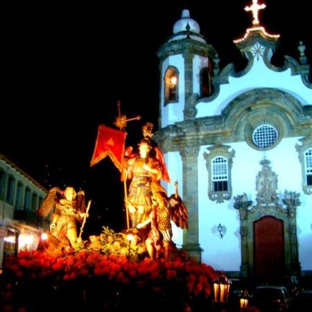 Sao Joao del Rei, MG: Procissão de São Miguel Arcanjo 2 [Saint Michael Procession] in São João del-Rei, Minas Gerais S