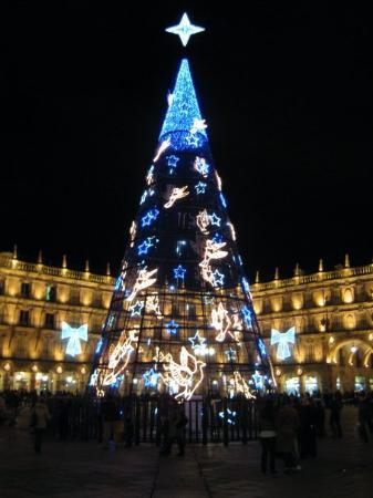 Salamanca's Plaza Mayor : Plaza Mayor, Salamanca, Spain