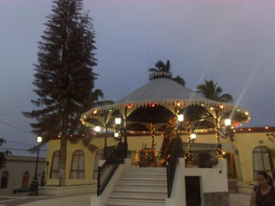 Teatro Marquez de Leon : Kiosko, Todos Santos, BCS