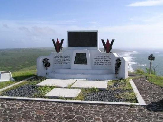 Memorial For those who died on Iwo Jima