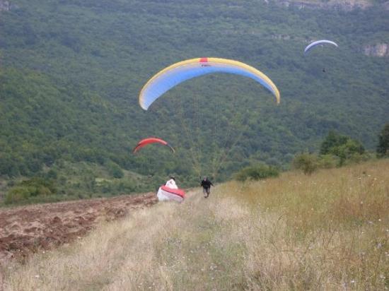 Montana Province, Bulgaria: Landningen på Pastrina, utanför Montana.