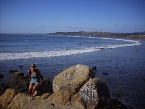 Concon, Chile: No era muy cómoda la piedra jajaj