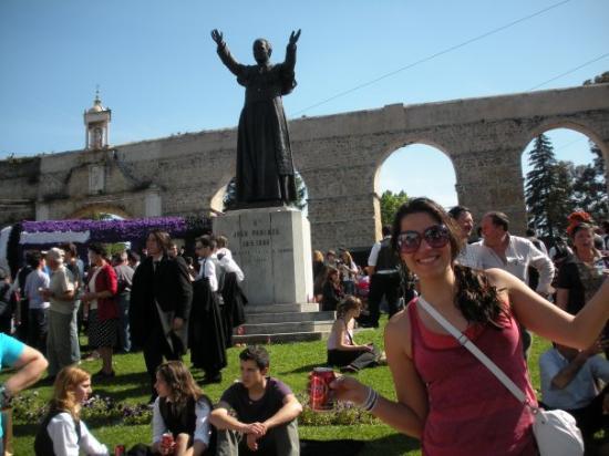 Coimbra - queima das fitas, no arco famoso!