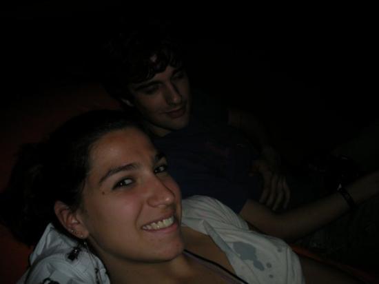 Oeiras - assistindo palestra no pufe! abra os olhos Augusto!!!