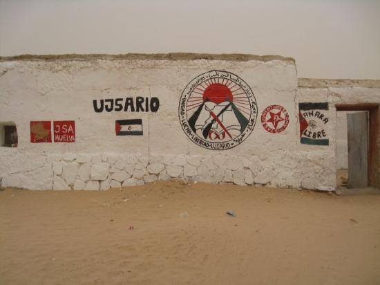 Tindouf, Algeria: Café Intifada