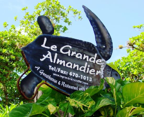 Le Grande Almandier : The Grande Almandier - nice sign