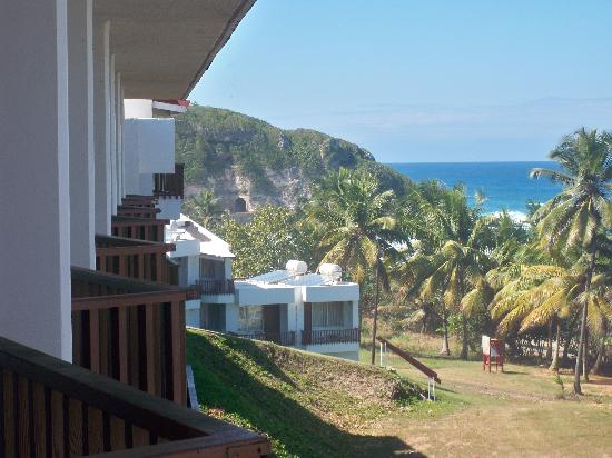 Hotel El Guajataca: View from our balcony