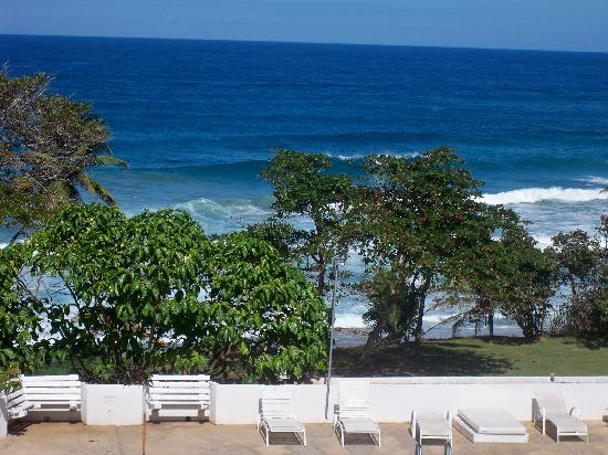 Quebradillas, Puerto Rico: View from our balcony