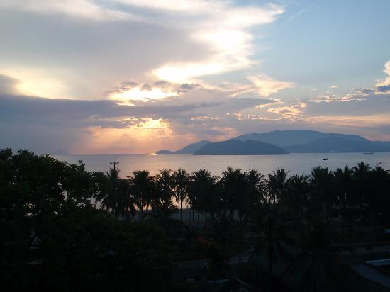 Sunset from Blue Star Hotel - Nha Trang