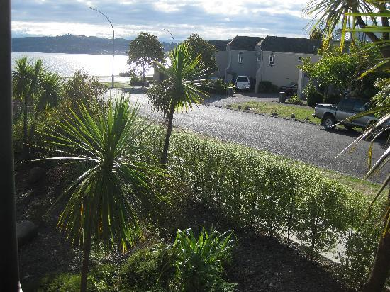 Wellesley on the Lake Taupo: view from room