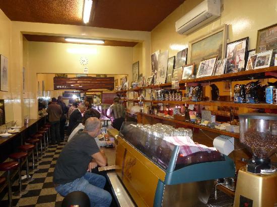 Pellegrini's Espresso Bar: The Long Bar