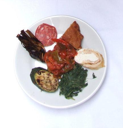 Osteria da Mariano: suggested antipasto