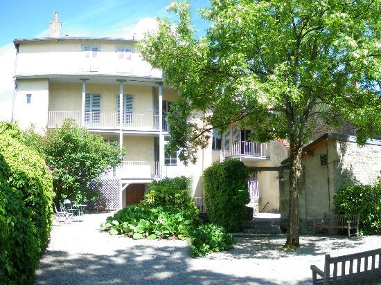 Франш-Конте, Франция: Le jardin est ouvert gratuitement au public pendant les périodes d'ouverture du musée. Louis Pas