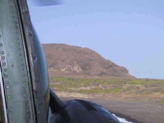 Iwo Jima, Japan: Mt Siribachi from the air