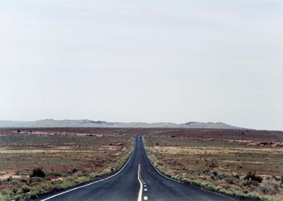 Road to Meteor Crater
