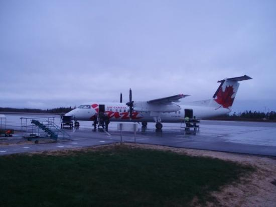 Prince Rupert, Canada: This is the plane that took me back to Van.  It's a two-hour flight from Rupert to Van.