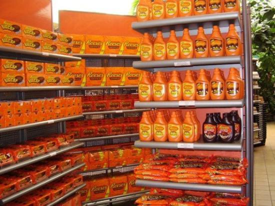 Hershey, PA: Look at all the Reese's