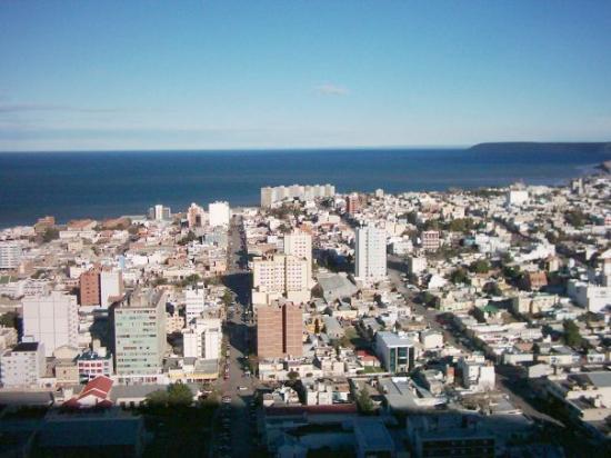 Comodoro Rivadavia, Argentina: Mirando el centro