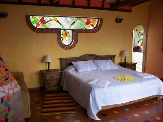 Suites Arco Iris: En VILLA DE LEYVA ESTA ERA NUESTRA HABITACION