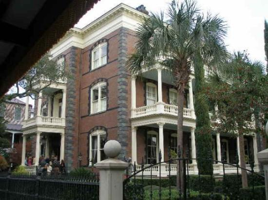 Battery Row Mansions Charleston Sc Picture Of