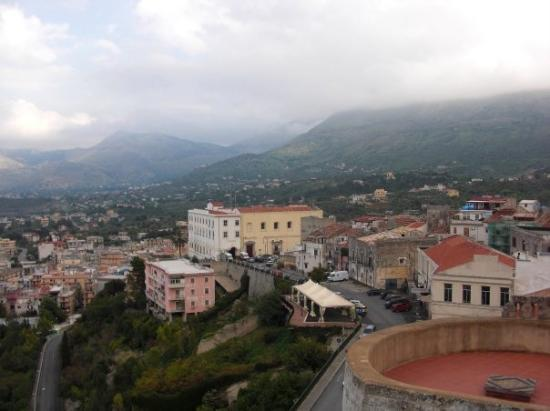 Carini, Italia: Views from Castle Balcony