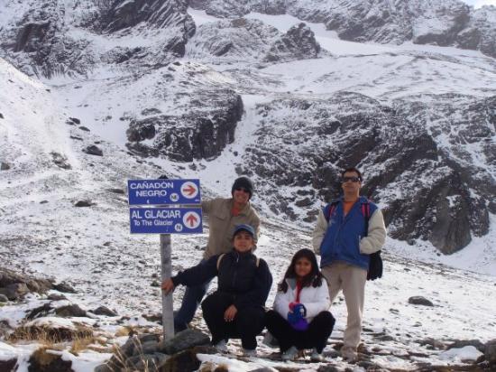 Glacier Martial: Glaciar Marcial. !!!!Que frio !!!