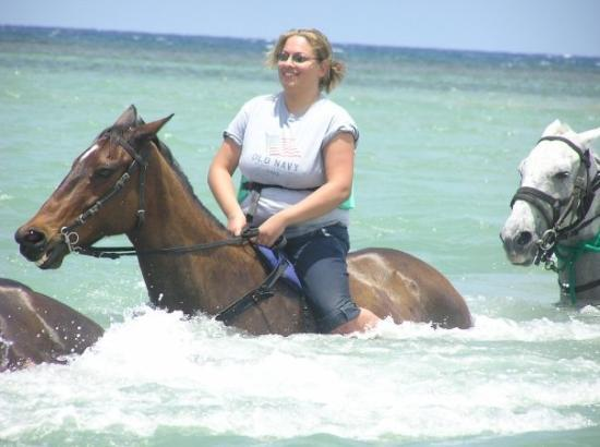 Horseback Riding Chukka Cove In Jamaica Picture Of