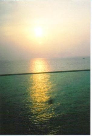 Ocho Rios, Jamaïque : Sunset on the boat