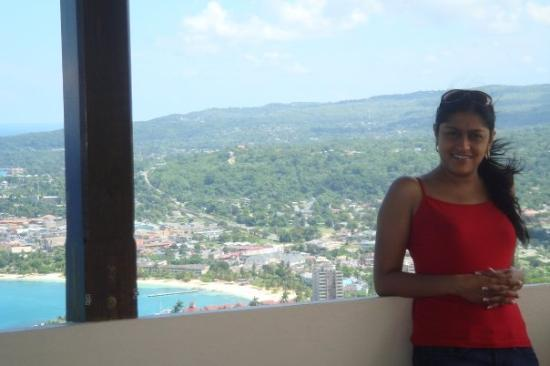 Ocho Ríos, Jamaica: Our place is somewhere down there