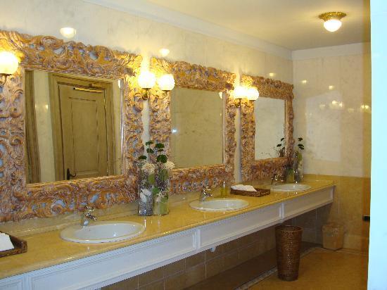 Cristallo Hotel Spa & Golf: Bagno della Hall