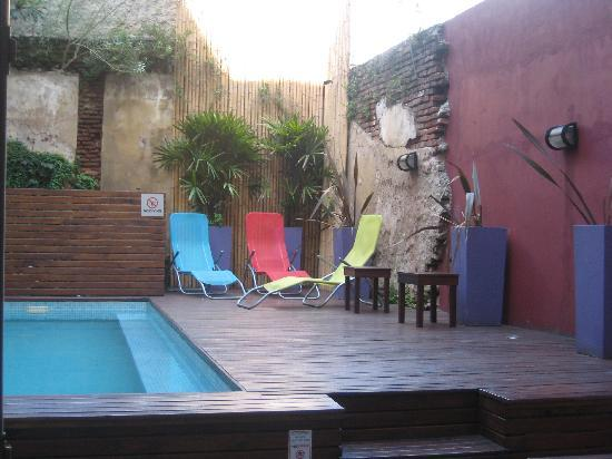 Circus Hostel & Hotel: The terrace and pool