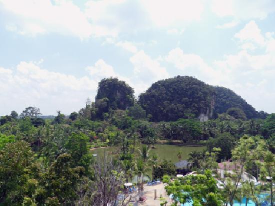 Maritime Park & Spa Resort: Blick vom Balkon