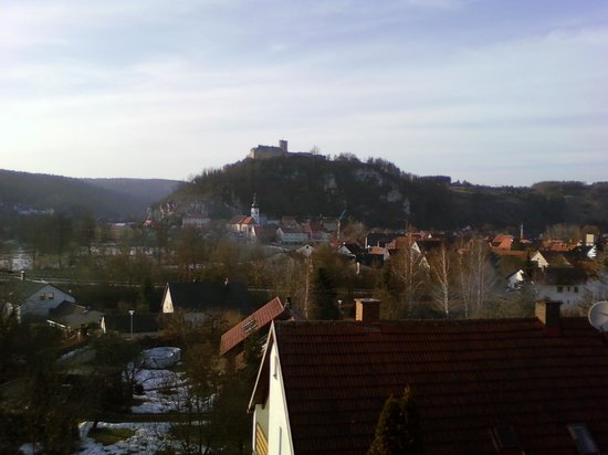 Kallmuenz, Germany: The beautiful view from my balcony.
