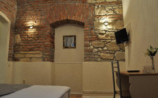 Pensiunea Siago Hotel: Double twin bed first level