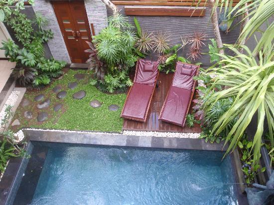 The Bali Dream Villa Seminyak: View from 2nd floor of 2-bedroom Villa