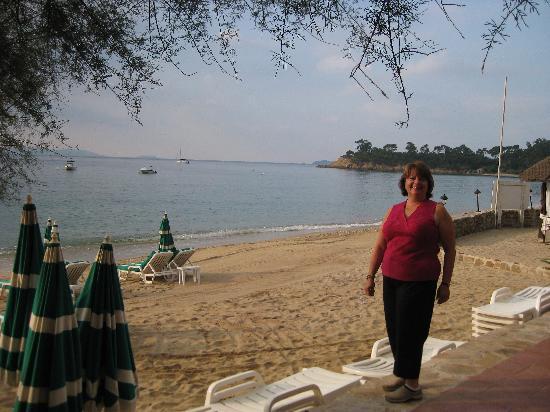 Hotel Ibersol Cavaliere Sur Plage: the beach