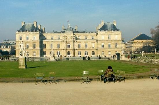 París, Francia: Jardines Luxemburgo