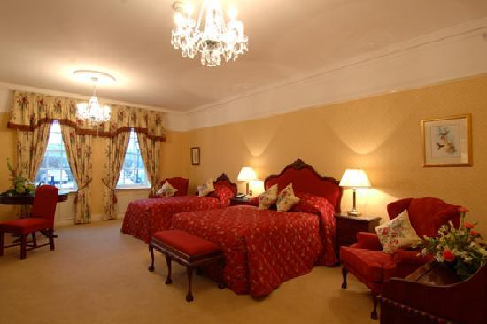 Barberstown Castle: my bridesmaids room