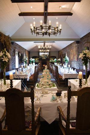 Barberstown Castle: dinning area