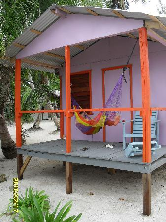 Gaviota Coral Reef Resort: relax on cabin hamock