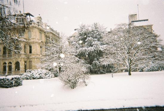 Brenners Park-Hotel & Spa: Even more magical than usual in the snow