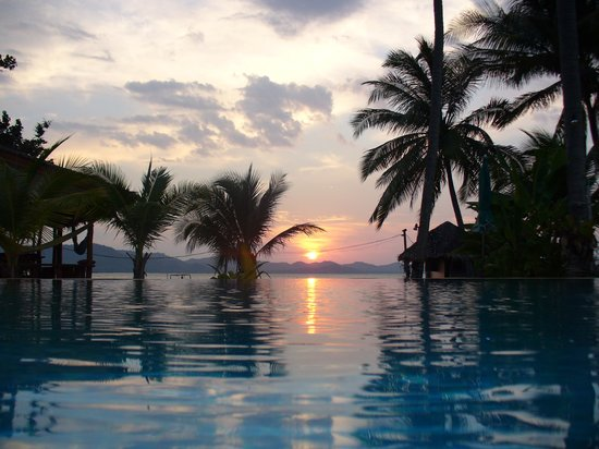 Koh Yao Noi, Thailand: Pool at Lamsai