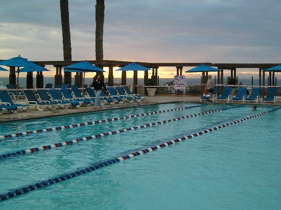 "Grand Pacific Palisades Resort and Hotel: Nice lap pool for ""the rest of us"""