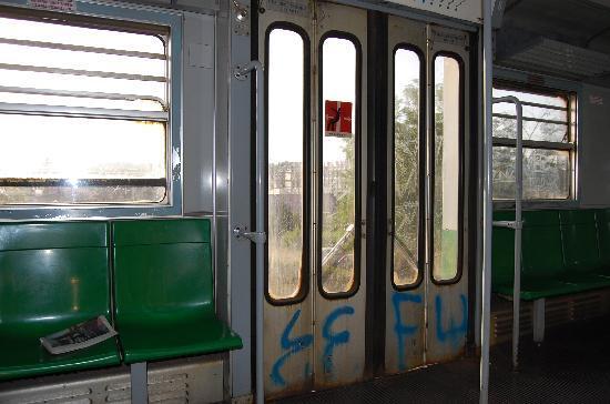 Flaminius Hotel : Train