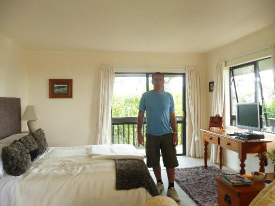 lovely room at pukematu lodge
