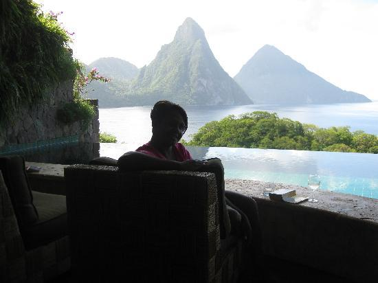 Jade Mountain Resort: What more could a girl ask for for her Birthday!!