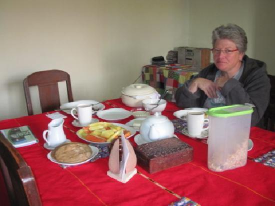 Nebaj, กัวเตมาลา: Essraum im alten Hausteil