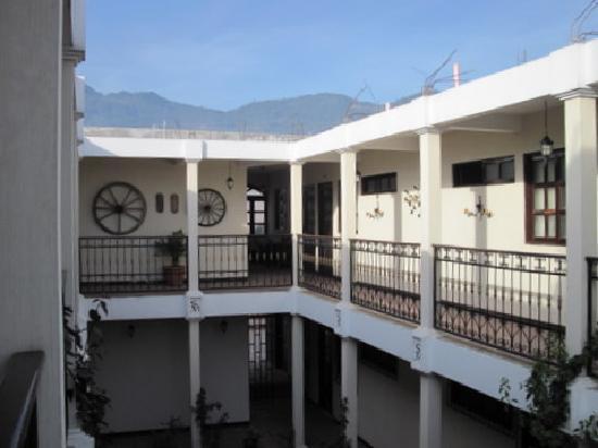Nebaj, Guatemala: das Hotel ist sehr geschmackvoll eingerichtet