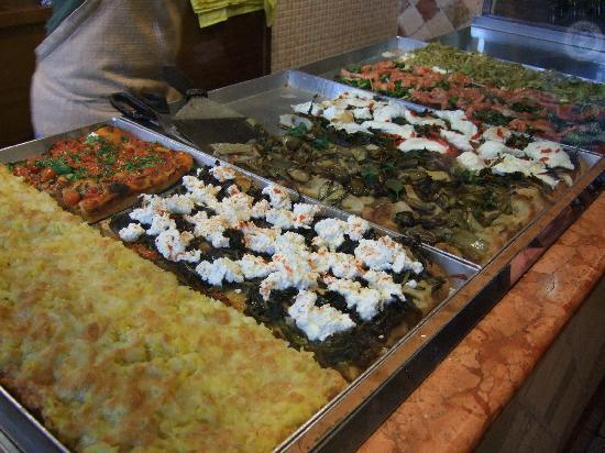 Pizzarium Bonci: Jardin de las Delicias