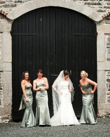 Loughbrickland House: Leaving for teh wedding